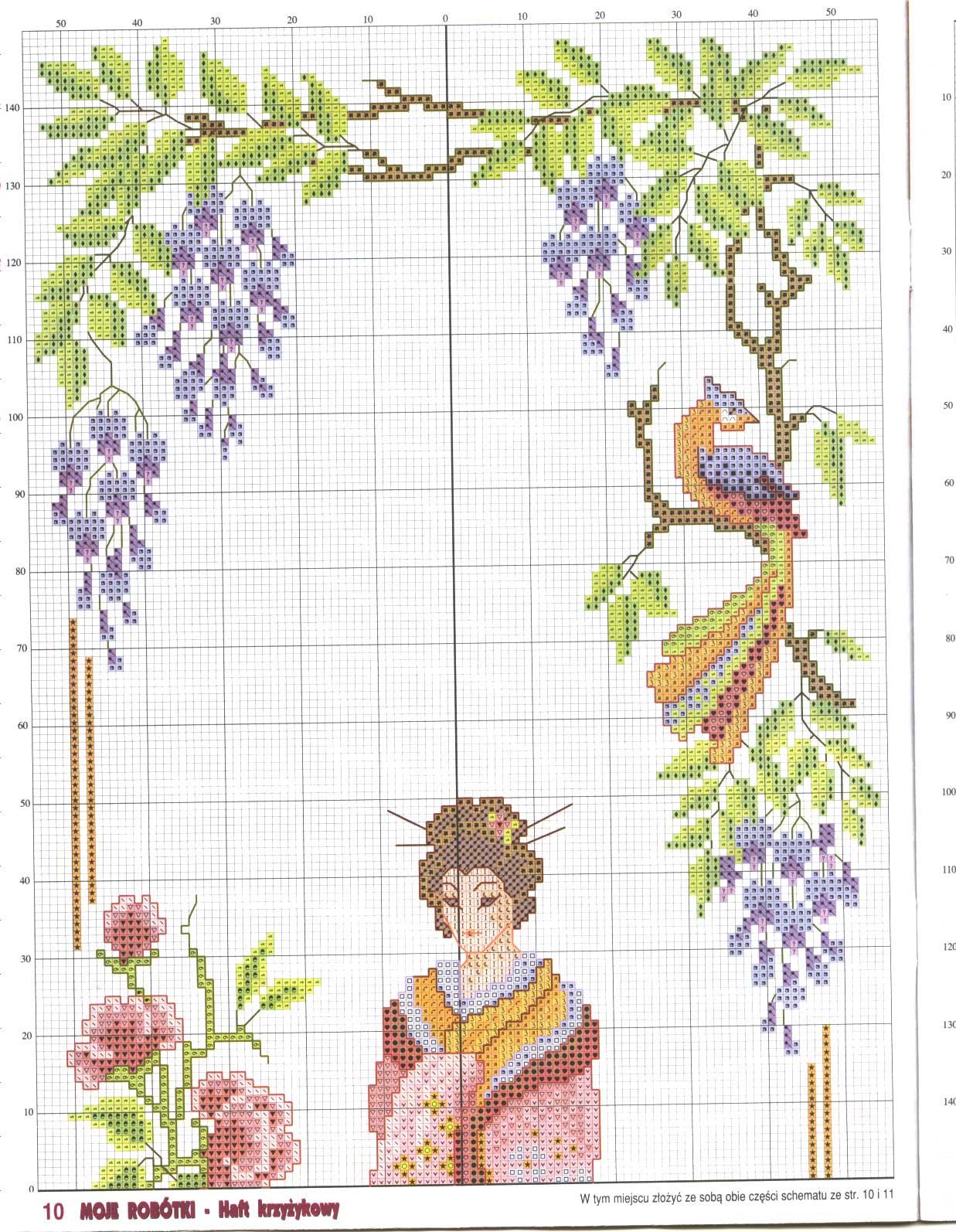 Схемы вышивки крестом схемы китайские мотивы 77